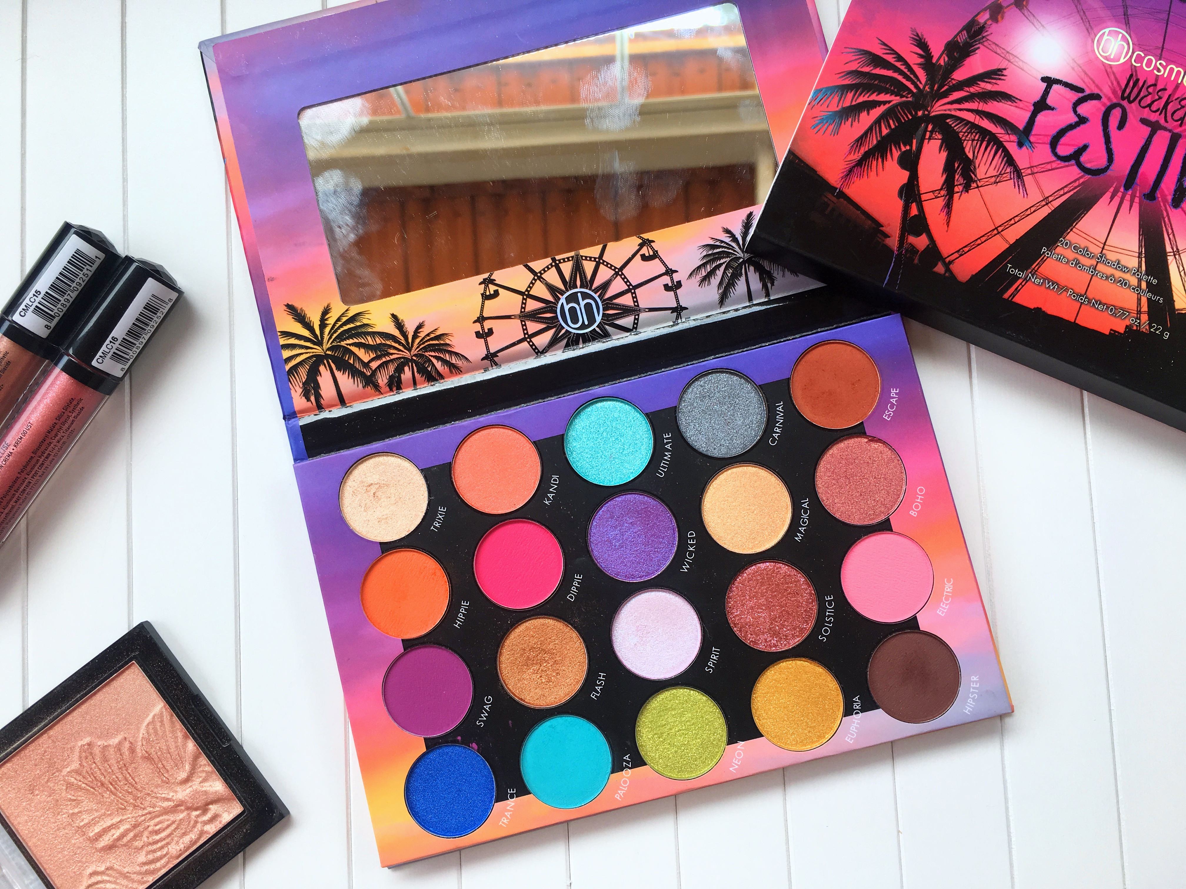 Bh Cosmetics Weekend Festival Palette By Bh Cosmetics