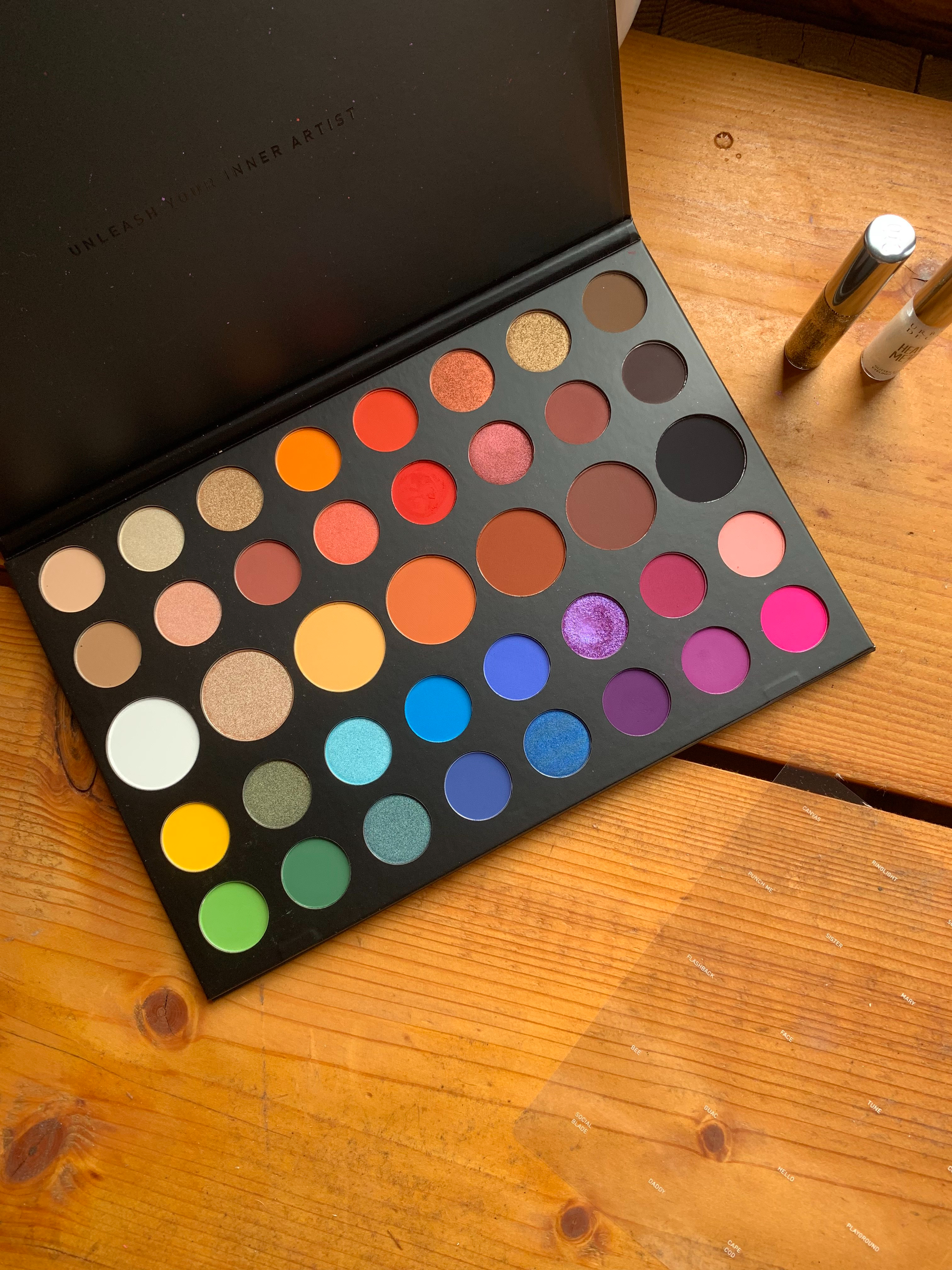 Morphe x James Charles Artistry palette - Review & Swatches ...