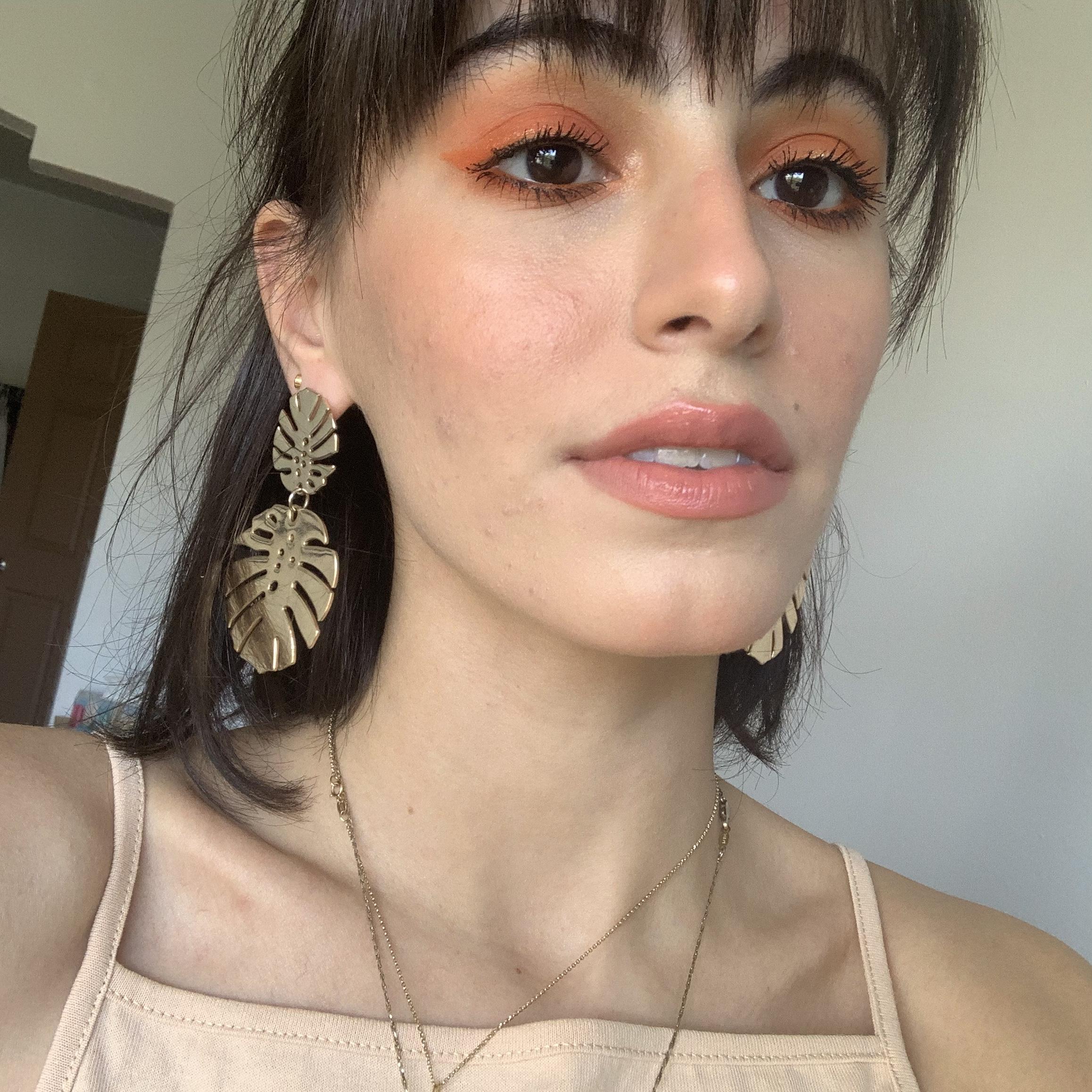 monochromatic orange makeup look.jpg