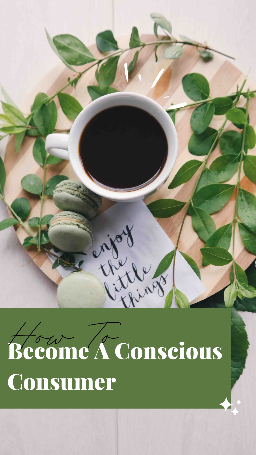 how to become a conscious consumer
